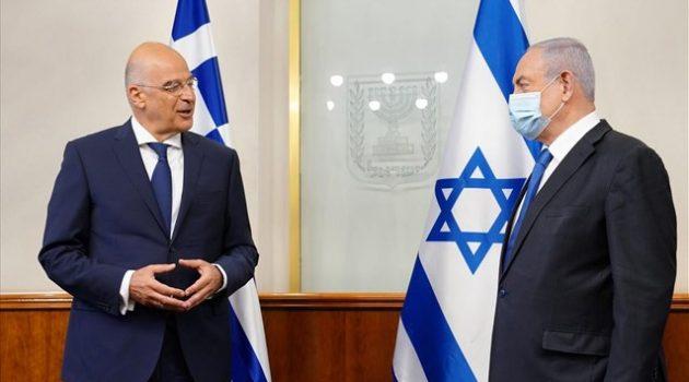 Κοινά τα συμφέροντα Ελλάδας – Ισραήλ στην Ανατολική Μεσόγειο