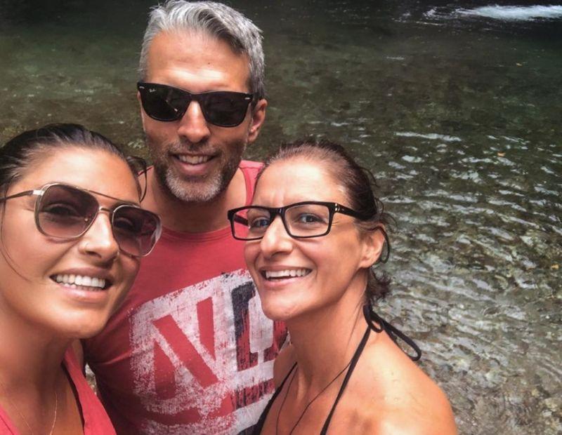 Έλενα Παπαρίζου: Διακοπές στην Πίνδο