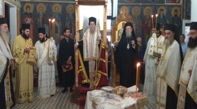 Λαμπρός ο εορτασμός του Αγίου Κοσμά στο Θέρμο Τριχωνίδος