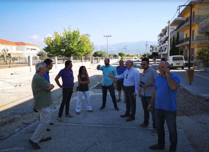 Μεσολόγγι: Ολοκληρώνονται οι εργασίες της οδού Κύπρου