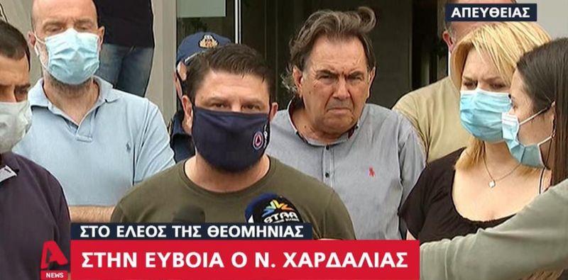 Νίκος Χαρδαλιάς από Εύβοια: «Πέντε νεκροί, δύο αγνοούμενοι»