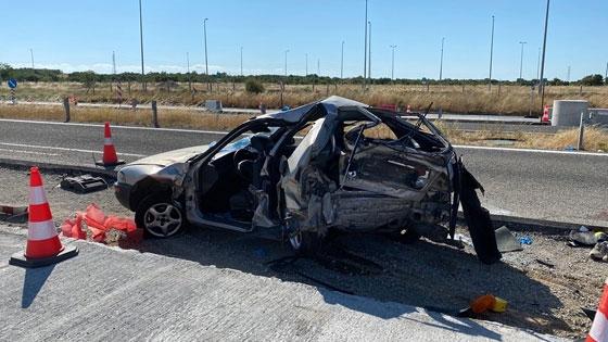 Αλεξανδρούπολη: Εικόνες – σοκ από το σημείο του δυστυχήματος – Είχαν στοιβάξει 12 άτομα στο μοιραίο ΙΧ
