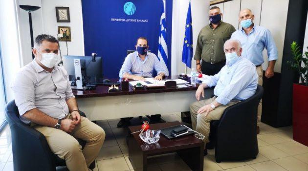 Έργα υποδομών απασχόλησαν την συνάντηση Λύρουκαι Φαρμάκη
