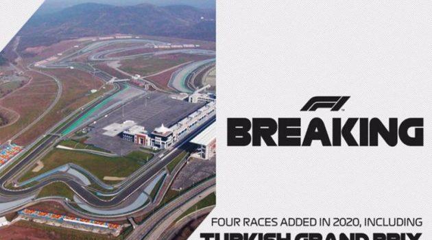 Formula 1: Επιστρέφει στην Τουρκία μετά από 9 χρόνια!