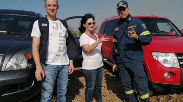 Κινητοποίηση στην Αιτωλοακαρνανία για την φωτιά στην Αστροβίτσα