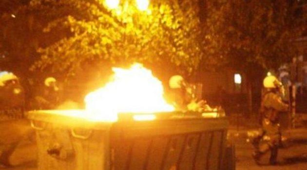 Αγρίνιο: Συλλήψεις νεαρών Ρομά για φωτιά και φθορές σε κάδους απορριμάτων