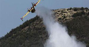 Πυρκαγιά στα Παλιάμπελα – Νεώτερη ενημέρωση