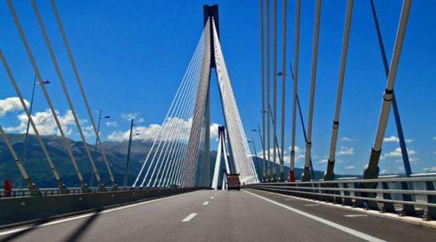 Γέφυρα «Χαρίλαος Τρικούπης»: Κυκλοφοριακές ρυθμίσεις από Πέμπτη 24 Ιουνίου