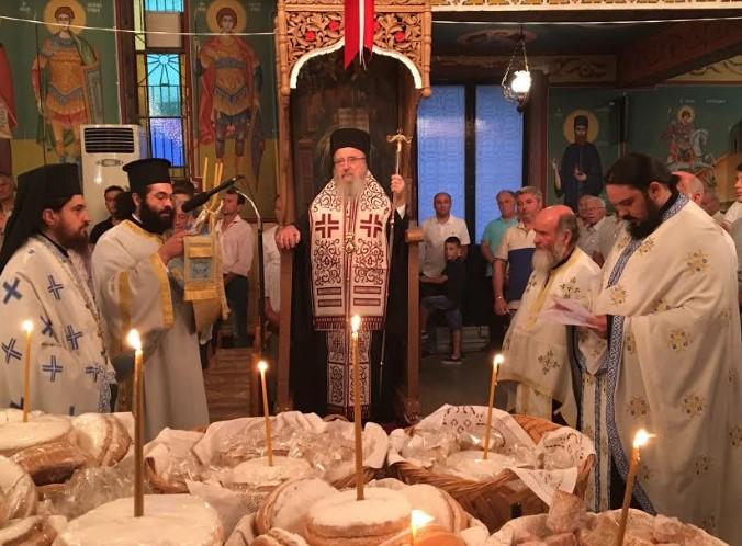 Ιερά Πανήγυρις Ιερού Ναού Κοιμήσεως Θεοτόκου Σπολάϊτας