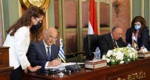 Το κείμενο της συμφωνίας Ελλάδας και Αιγύπτου για την οριοθέτηση…