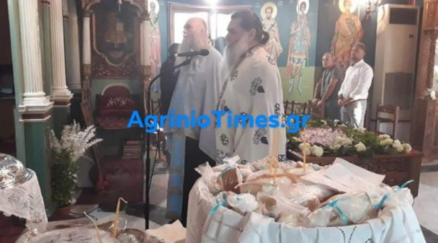 Ευαγγελίστρια Αγρινίου: Εσπερινός και Εγκώμια στην Παναγία (Φωτορεπορτάζ)
