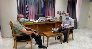 Συνάντηση Κωνσταντάρα – Δημητρογιάννη για θέματα του Δήμου Θέρμου