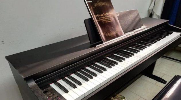 Δωρεά ηλεκτρικού πιάνου στον Μουσικό Όμιλο Μεσολογγίου «Ιωσήφ Ρωγών»