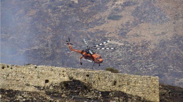 Η φωτιά στις Μυκήνες – Οι φλόγες πέρασαν από μέσα (Photo)