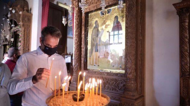 Ο Κυριάκος Μητσοτάκης για την εορτή της Κοιμήσεως της Θεοτόκου