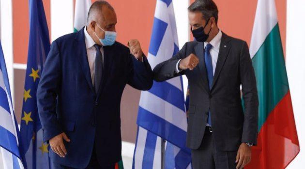 Μητσοτάκης και Μπορίσοφ υπέγραψαν τη συμφωνία για το φυσικό αέριο Αλεξανδρούπολης