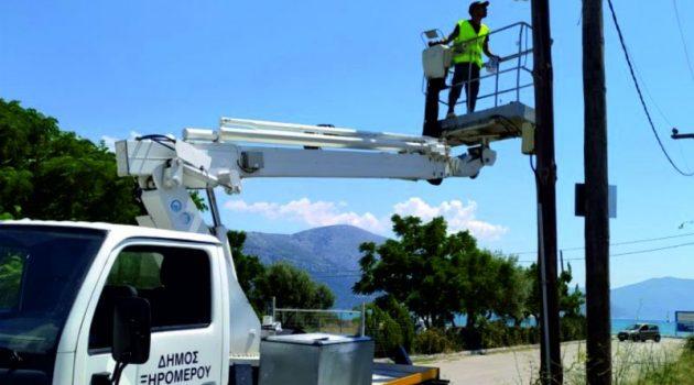 Επεμβάσεις του Δήμου Ξηρομέρου, στον ηλεκτροφωτισμό του Μύτικα