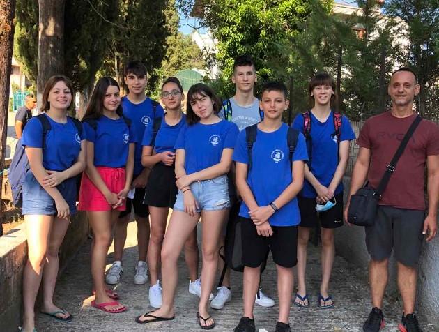 Επιστροφή από το Πανελλήνιο πρωτάθλημα κολύμβησης με επιτυχίες ο Ν.Ο. Τριχωνίδας