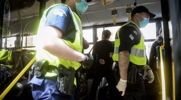 Αγρίνιο: Δεκαεννέα πρόστιμα για μη χρήση μάσκας