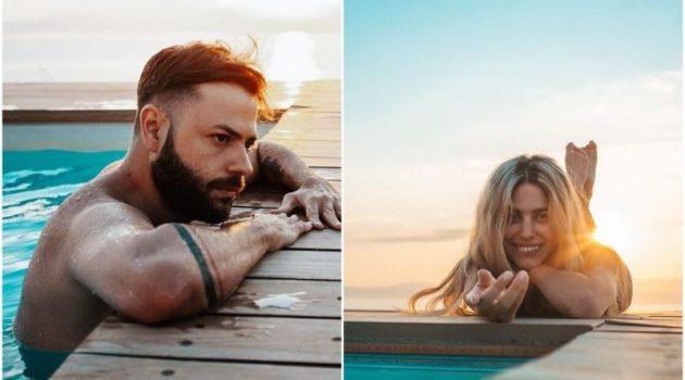Πυλαρινός – Χατζηθεοδώρου: Διακοπές στη Λευκάδα για το ερωτευμένο ζευγάρι (Video)