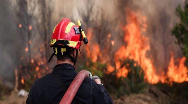 Παραμένει υψηλός ο κίνδυνος πυρκαγιάς στη Δ. Ελλάδα και την Πέμπτη
