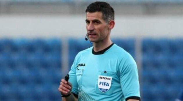 Ο Τάσος Σιδηρόπουλος 4ος διαιτητής στον τελικό του UEFA Europa League