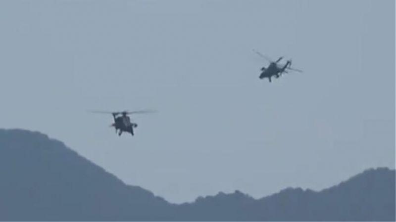 Ελληνικό ελικόπτερο παρενοχλήθηκε από τρία τουρκικά στο Καστελόριζο