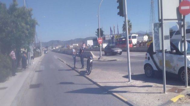 Αγρίνιο: Τροχαίο ατύχημα στην Εθνική Οδό Αντιρρίου – Ιωαννίνων (Photos)
