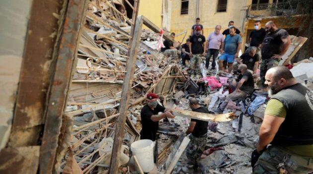 Βηρυτός: Βρέθηκαν τα λείψανα δύο αγνοούμενων πυροσβεστών