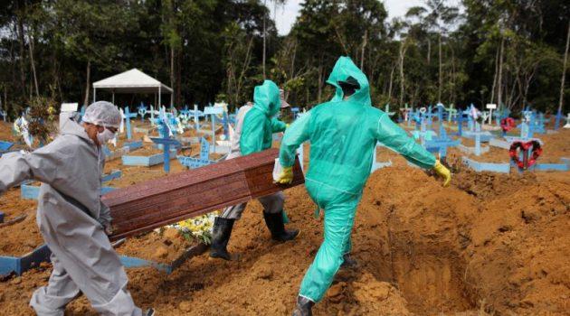 Βραζιλία: Έφτασαν τους 1.060 οι θάνατοι και 50.644 τα κρούσματα κορωνοϊού