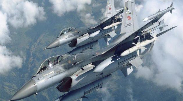 Χίος: Παραλίγο ατύχημα με τουρκικό F-16 που είχε παραβιάσει το ελληνικό FIR