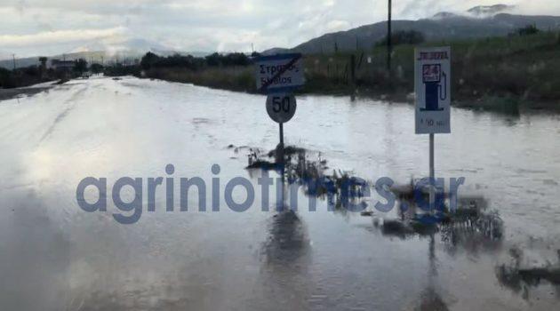Αιτωλ/νία: Προβλήματα στο οδικό δίκτυο από την κακοκαιρία (Photos)