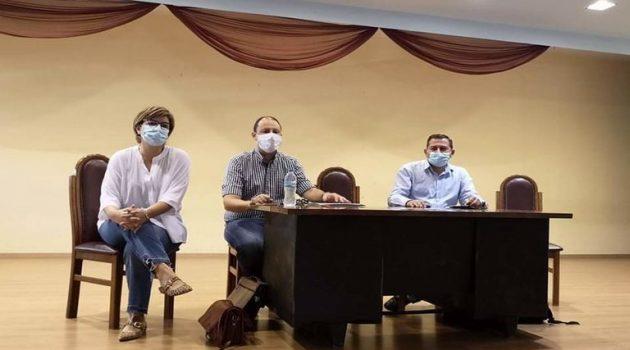 Συνάντηση του Aντιπεριφερειάρχη Αγροτικής Ανάπτυξης για τον καταρροϊκό πυρετό