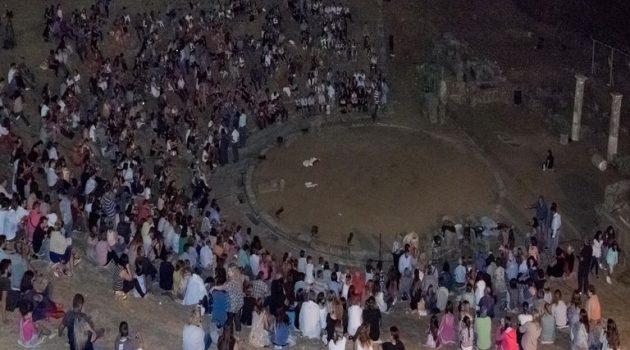 Δράση σε αρχαιολογικούς χώρους της Αιτωλίας: «Και τα μνημεία ελούζονταν μες στην αστροφεγγιά…»