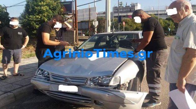 Αγρίνιο: Σύγκρουση οχημάτων στον κόμβο του Αγίου Δημητρίου (Photos)