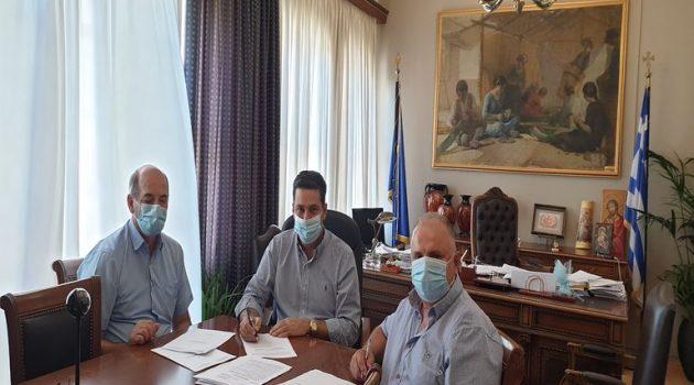 Αναβάθμιση δικτύου ηλεκτροφωτισμού σε Άγιο Κωνσταντίνο