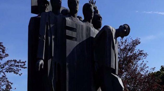 Επίσημο μνημόσυνο στην Πλατεία Κυψέλης για τον αγωνιστή της αγροτιάς Μήτσο Βλάχο