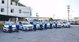 Δεκατέσσερα νέα οχήματα στην Αστυνομική Διεύθυνση Ακαρνανίας