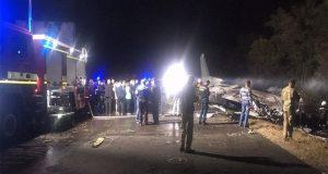 Συντριβή αεροσκάφους στην Ουκρανία – 25 νεκροί (Video)