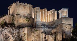 Ο νέος φωτισμός της Ακρόπολης