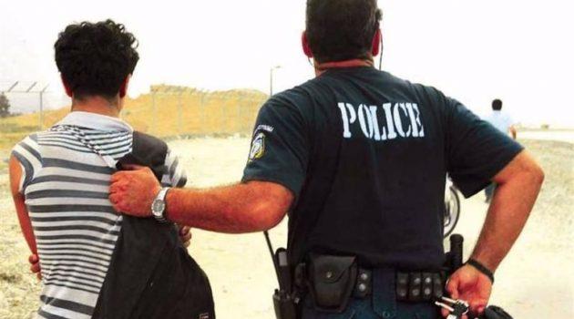 Συνελήφθη άνδρας στο Αγρίνιο για παράνομη διαμονή στη χώρα