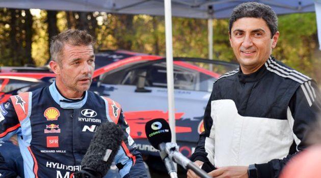 Δοκιμές Hyundai Motorsport στην Ελλάδα: Συνοδήγηση Λεμπ με τον Λ. Αυγενάκη
