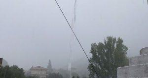 Ισχυρή βροχόπτωση στη Ναυπακτία