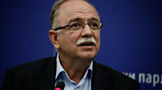 Παπαδημούλης: «Nα καταδικαστούν με ψήφισμα οι κινήσεις Τουρκίας από το Ευρ. Κοινοβούλιο»