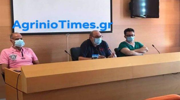 Live η ενημέρωση φορέων και δημοσιογράφων στο Νοσοκομείο Αγρινίου (Video – Photos)