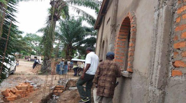 Ιεραποστολή Αγρινίου: Πρόοδος εργασιών στον υπό ανέγερση Ι.Ν. Αγίου Παϊσίου στην Κανάγκα του Κονγκό