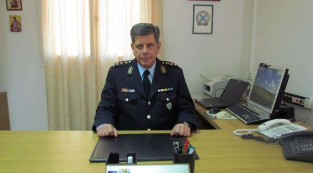 Αποχωρεί ο Ιωάννης Νταλαχάνης από τη Διεύθυνση Αστυνομίας Αιτωλίας