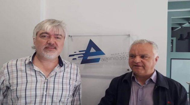 Γ. Καραμητσόπουλος: «Το Αγρίνιο νιώθει… ηττημένο» (Ηχητικό)