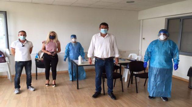 Αμφιλοχία: Έλεγχος για κορωνοϊό σε εργαζόμενους και αιρετούς (Photo)