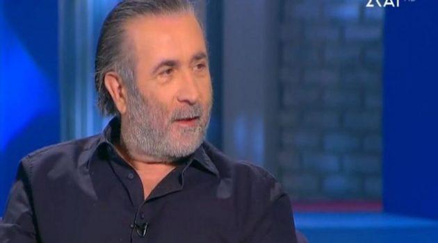 Λ. Λαζόπουλος: «Βρέθηκα στην τηλεόραση τελείως συμπτωματικά»